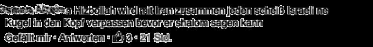 ⏥ gegenfeuer Nichts gegen Juden